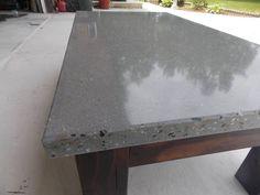 Medium Agg Grey Concrete Coffee table