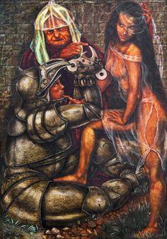 Eduardo Torassa - La entrega - Óleo sobre placa 29x20 cm - 1987 - Assinado no canto inferior esquerd