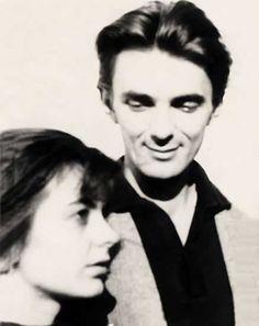 Scriitoarea Ana Blandiana și soțul său, scriitorul Romulus Rusan, in anii Che Guevara, People, People Illustration, Folk