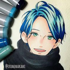 . . 昨日の獅子尾せんせ . メイキング評判よかったみたいで嬉しい☺️❤️ . こういう髪の塗りパキッとしてて好きかも (線画面倒くさいけど) . あと、鼻の頭赤くなってる人って可愛い。(笑) . #illust #art #anime #manga #mangaart #comic #illustration #drawing #copic #thankyou #followme #illustrator #shishiosatsuki #yamamorimika #hirunakanoryuusei #絵 #落書き #お絵描き #アニメ #コピック #漫画 #イラスト #少女漫画 #獅子尾五月 #ひるなかの流星 #やまもり三香 先生