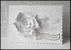 Using Embossing Folders and Diecuts http://nettyscraftings.blogspot.co.uk/