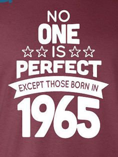 51 Year Old Birthday Shirt No One is Perfect by BirthdayBashTees