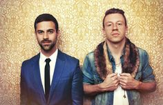 Macklemore and Ryan Lewis - the new great inspiration to the younger generation who rap about gay rights, the bad affect drugs have and many other controversial topics in society and life in a GOOD way and use the power they have as an advantage to get good messages across.