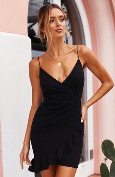 72354fc146f4 13 Best black sundress images | Black sundress, Cute dresses, Dress ...