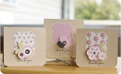 Absolutely darling! Sweet little gift cards designed by Laura Craigie for Pebbles, Inc.