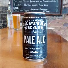 Capital Trail Pale Ale, nicely hopped pale.  #CapitalTrailPaleAle #craftbeer #localbeer #beer