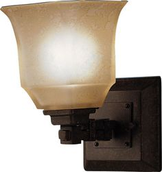 Kichler Lighting- Silverton Tannery Bronze Mission Wall Sconce $90