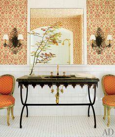 Interior design by Bunny Williams, Peter Fasano wallpaper