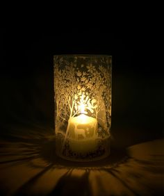 Hurricane glass lamp from Tord Boontje - magical