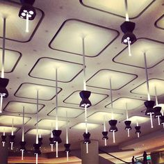 Ceiling Patterns in Shopping Malls