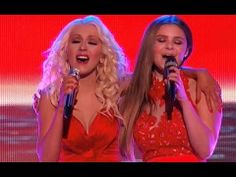 "▶ Christina Aguilera and Jacquie Lee ""WE REMAIN"" - YouTube"