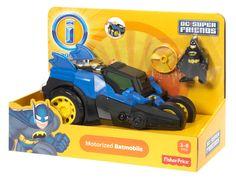 Amazon.com: Fisher-Price Imaginext DC Super Friends: Motorized Batmobile: Toys & Games