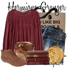 """Hermione Granger"" by disneykid95 on Polyvore"