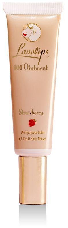 Lanolips Fruities 101 Ointment Strawberry, Camdise's range of Lanolips