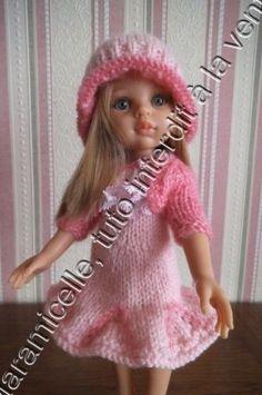 tuto gratuit poupée : bonnet à godets roulottés