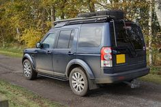 Land Rover Discovery 4 with ProSpeed off road accessories Land Rover Overland, Range Rover Evoque, Range Rovers, Range Rover Discovery, Offroad, 4x4, Vehicles, Cars, Accessories