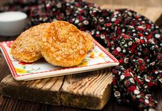 Slané ovesné placičky Protein, Bagel, Cookies Et Biscuits, Sweet Tooth, Dessert Recipes, Dessert Healthy, Muffin, Healthy Eating, Cooking Recipes