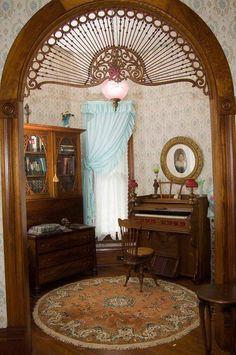 Doorway Detail 1899 Victorian: Queen Anne Historic Downtown; Brenham, Texas