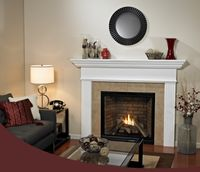 Dvcp32bp30n Tahoe Clean Face Traditional 32 Direct Vent Fireplace