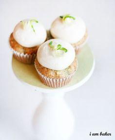 Zucchini Cupcakes - I Am Baker
