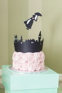 Mary Poppins Birthday Party Ideas - Pretty My Party - Party Ideas 30th Birthday Parties, Birthday Party Themes, Girl Birthday, Birthday Cake, Mary Poppins Cast, Merry Poppins, First Birthday Pictures, Deco Table, Childrens Party