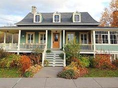 Bas Saint Laurent, Canada, Location, Garage Doors, Cabin, House Styles, Outdoor Decor, Home Decor, Vacation