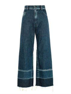 Rachel Comey Legion wide-leg cropped jeans