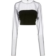Designer Clothes, Shoes & Bags for Women Sheer White Shirt, White Sheer Top, Sheer Tops, Kpop Outfits, Casual Outfits, Cute Outfits, Kpop Fashion, Fashion Outfits, Crop Top Outfits