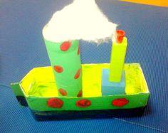 Για να φτιάξουμε καράβια το ψάξαμε πολύ !!!!   Το καλύτερο που βρήκαμε και μας άρεσε ήταν σε ένα βιβλίο με κατασκευές που υπάρχει στο σχο...