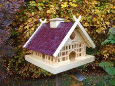 Ein Vogelhaus der Extraklasse.