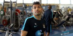 Aguero in momment mcfc vs nu 6-1