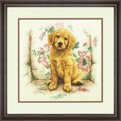 Dimensions - Counted Cross Stitch Kit - Soft Spot - Dog