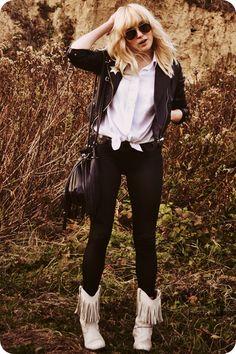 Matte Faux Leather Skinny Leggings OASAP.com