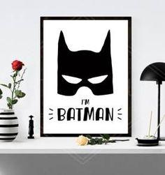 poster i´m batman - 30x40cm