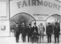 "Fairmont Park - Railroader Arthur Stillwell's turn-of-the-century destination point for riders of Inter-City District line between KC and Independence.  Located at KC's eastern limit just north of what now is U.S. 24.  1897 - 1933 Features:  Loop the Loop, The Chute, Tube Ride, The Giant Dipper, The Jumping Jack, Zoo, swimming pool, racetrack, ""rest cottages,"" fountains and canoe rentals.  Died during the Great Depression."