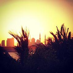 Sunset, Abu Dhabi