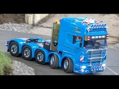 RC truck ACTION! Amazing R/C trucks at the Faszination Modellbau fair! - YouTube
