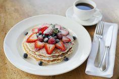 ハワイの朝は、パンケーキ