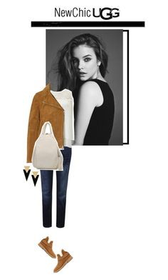 """Newchic"" by s-thinks ❤ liked on Polyvore featuring UGG, Madewell, Yves Saint Laurent, Rebecca Minkoff and ugg"