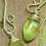 Lovely colour #Jewellery Poppy Loves Pinterest: Gorgeous Homemade Jewellery
