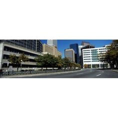 Buildings in a city Downtown Denver Denver Colorado USA Canvas Art - Panoramic Images (36 x 12)