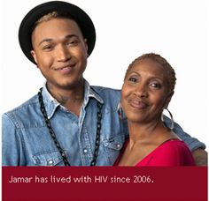 Jamar has lived with HIV since 2006  #stophivtogether