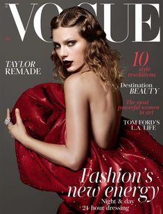Taylor Swift covers the January 2018 issue of British Vogue