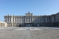 Palacio Real, Madrid - and all just a five minute stroll down the road. This place rocks!