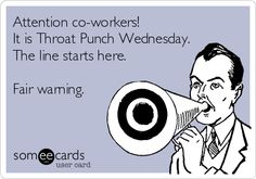 after the last three calls I answered today. I really wish there was a magical way to just throat punch someone right thru the phone ! At least the day is almost over ! Witty Quotes, Clever Quotes, Funny Quotes, Funny Memes, Hilarious, Inspirational Quotes, Work Memes, Work Humor, Work Funnies
