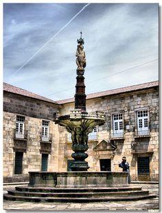 Largo do Paço, Reitoria da Universidade do Minho. Braga, Portugal