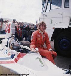 circa British motor-racing driver James Simon Wallis Hunt - winner of ten Grand Prix races, and World Champion in James Hunt, One Championship, British Grand Prix, Bbc Two, F1 Drivers, Indy Cars, Formula One, Fast Cars, Wallis