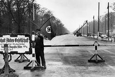 Berlin 1938 Charlottenburger Chausse-Wiederaufbau-