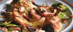Lobster-stuffed Young Chicken by Chef/owner Scott Bagshaw of Deseo Bistro