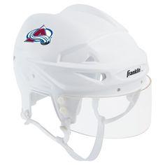 Franklin Sports NHL Team Licensed Mini Player Helmet - New York Rangers Colorado Avalanche, San Jose Sharks, Hockey Teams, Hockey Room, Toronto Maple Leafs, New York Rangers, Pittsburgh Penguins, 6 Years, Football Helmets